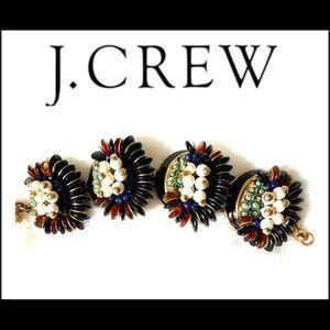 J Crew statement bracelet